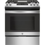"®30"" Slide-In Front Control Gas Range"