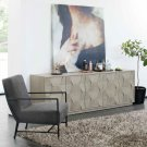 Linea Entertainment Console in Cerused Greige (796) Product Image