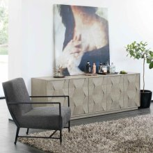 Linea Entertainment Console in Cerused Greige (796)