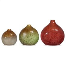 Myanmar Vases Set of 3