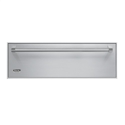 """Stainless Steel 30"""" Built-In Storage Drawer - SD (30"""" wide model: 23.4"""" D. x 27.5""""W. x 6.5""""H. - 2.4 cu. ft.)"""