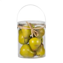 Faux Bartlett Pears-9 pieces