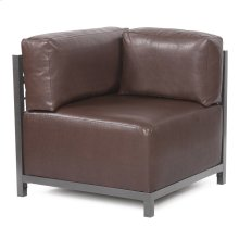 Axis Corner Chair Avanti Pecan Slipcover