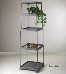 HOT BUY CLEARANCE!!! Friedman Metal Etagere, Bronze