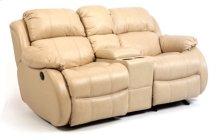 Brandon Leather Gliding Reclining Love Seat