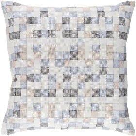 """Modular MUL-002 18"""" x 18"""" Pillow Shell with Polyester Insert"""