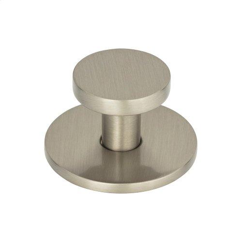 Dot Knob 1 1/4 Inch - Brushed Nickel