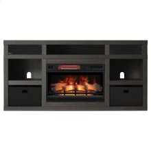 Greatlin TV Stand with Electric Fireplace