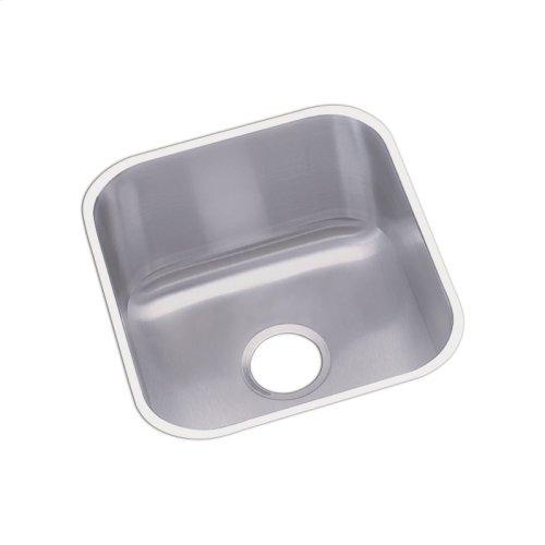 "Dayton Stainless Steel 16-1/2"" x 18-1/4"" x 8"", Single Bowl Undermount Bar Sink"