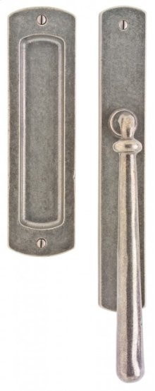 "Curved Lift & Slide Door Set - 1 3/4"" x 11"" Silicon Bronze Brushed"