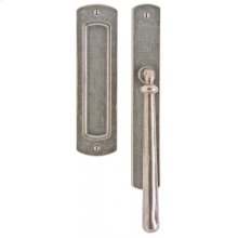 "Curved Lift & Slide Door Set - 1 3/4"" x 11"" Silicon Bronze Brushed"