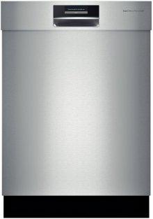 "24"" Recessed Handle Dishwasher 800 Plus Series- Stainless steel"