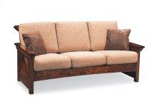 B&O Railroade Trestle Bridge Sofa, Fabric Cushion Seat