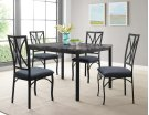 Zeus Casual 5 Piece Dining Set Product Image