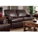 Colton Traditional Brown Loveseat Product Image