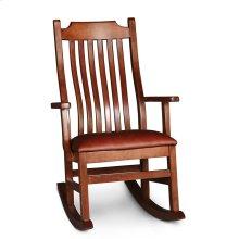 Urbandale Arm Rocker with Cushion Seat, Fabric Cushion Seat