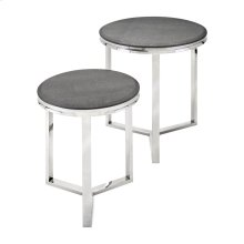 Meeda Stainless Steel Tables - Set of 2