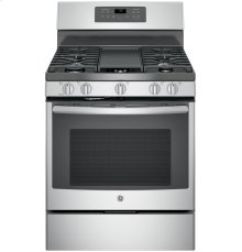 """GE® 30"""" Free-Standing Gas Convection Range ***FLOOR MODEL CLOSEOUT PRICING***"""