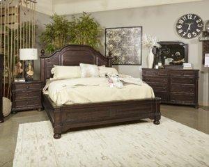 Gerlane - Dark Brown 2 Piece Bedroom Set