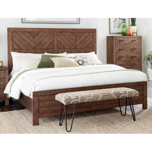 Reeves Mojave Brown Queen Bed
