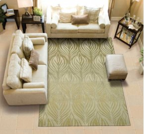 Contour Con06 Gre Rectangle Rug 8' X 10'6''