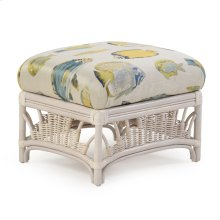 24 X 21 Rectangle Ottoman Whitewash 4409
