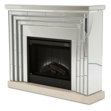 Fireplace W/ Firebox Insert