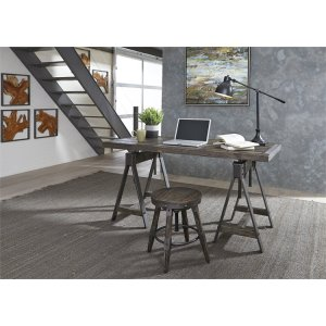 LIBERTY FURNITURE INDUSTRIESTable/Desk and Stool Set