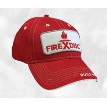 Red Original Patch Logo Hats