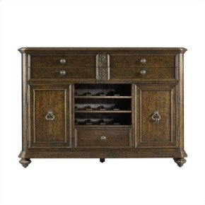Rustica - Dining Cabinet In Sorrel
