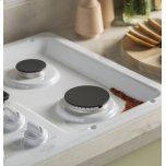 "Ge(r) 36"" Built-In Gas Cooktop With Dishwasher-Safe Grates"
