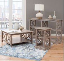 Hampton Occasional Tables Taupe Gray