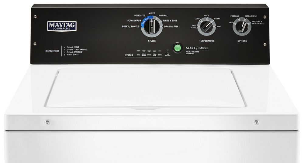 Get Maytag Full Size In Mass Top Load Washers Mvwp575gw