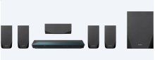 Blu-ray Home Theater System with Bluetooth