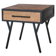Salvatore KD End Table 1 Drawer, Rustic Gamma