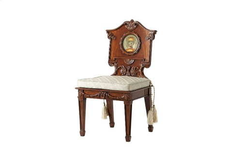The Wootton Hall Accent Chair - With Cushion