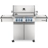 Napoleon BBQ Prestige Pro 500 Rsib Infrared Rear & Side Burners , Stainless Steel , Propane