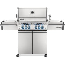 Prestige PRO 500 RSIB Infrared Rear & Side Burners , Stainless Steel , Natural Gas