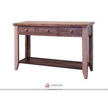 Sofa Table With Drawers