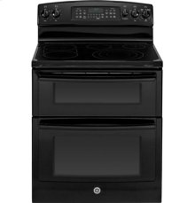 "GE® 30"" Free-Standing Electric Double Oven Range with Convection"
