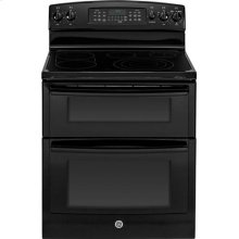 """GE® 30"""" Free-Standing Electric Double Oven Range with Convection"""