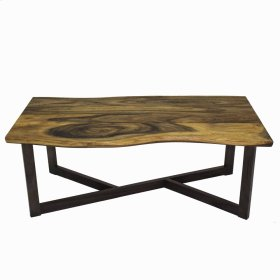 Trembesi Rectangular Coffee Table, Natural