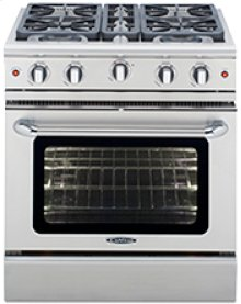 "Precision 30"" Gas Manual Clean Range"