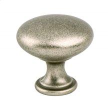 Advantage Plus One Weathered Nickel Round Knob