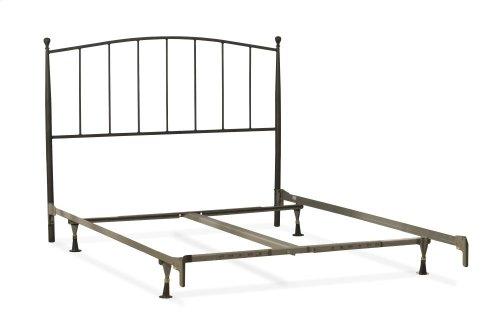 Warwick Full Headboard With Frame (gray Bronze)