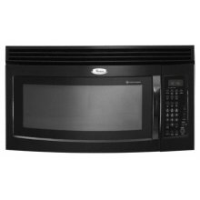 Black-on-Black 1.8 cu. ft. Family Capacity™ Microwave-Range Hood Combination