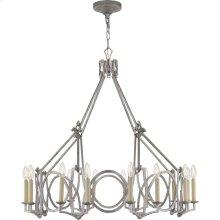 Visual Comfort NW5011VS Niermann Weeks Brittany 16 Light 37 inch Venetian Silver Chandelier Ceiling Light, Niermann Weeks