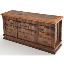 Heritage Gunnison 4 Door 3 Drawer Buffet