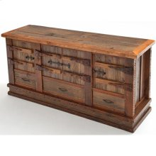 Heritage Gunnison 4 Door 3 Drawer Buffet