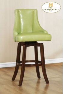 Counter Height Chair, Green Product Image